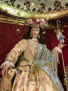 El 28 de junio se retirará del culto la Divina Pastora y Santa Marina de Sevilla para ser restaurada por Miñarro