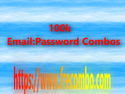 100k Email:Password Combos