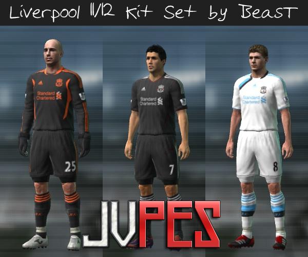 Editando Uniformes P E S Uniforme Liverpool 2011 2012