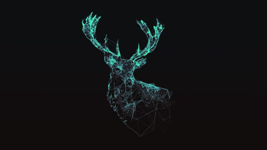 Abstract, Digital Art, Deer, 4K, #28