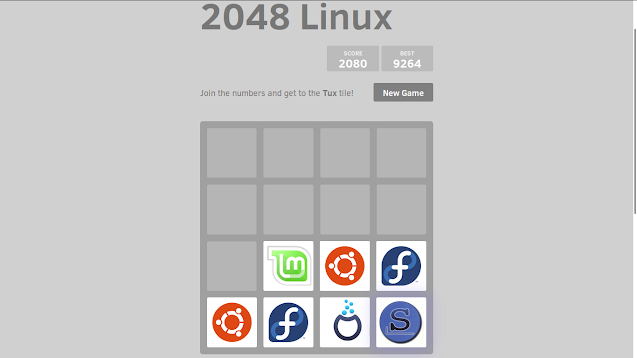 Game 2048 Versi Linux