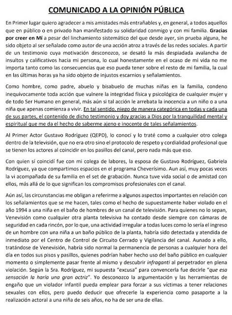 Perucho Conde ES INOCENTE