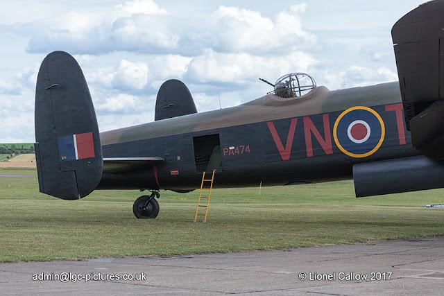 BBMF Lancaster tail