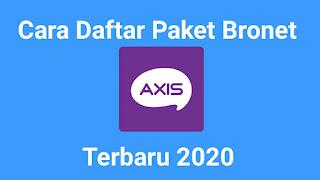 Cara Daftar Paket Bronet Lengkap Terbaru 2020