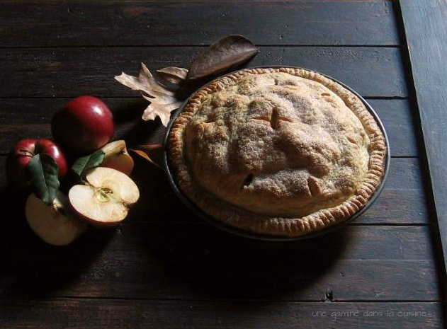 une gamine dans la cuisine Apple Toffee Pie