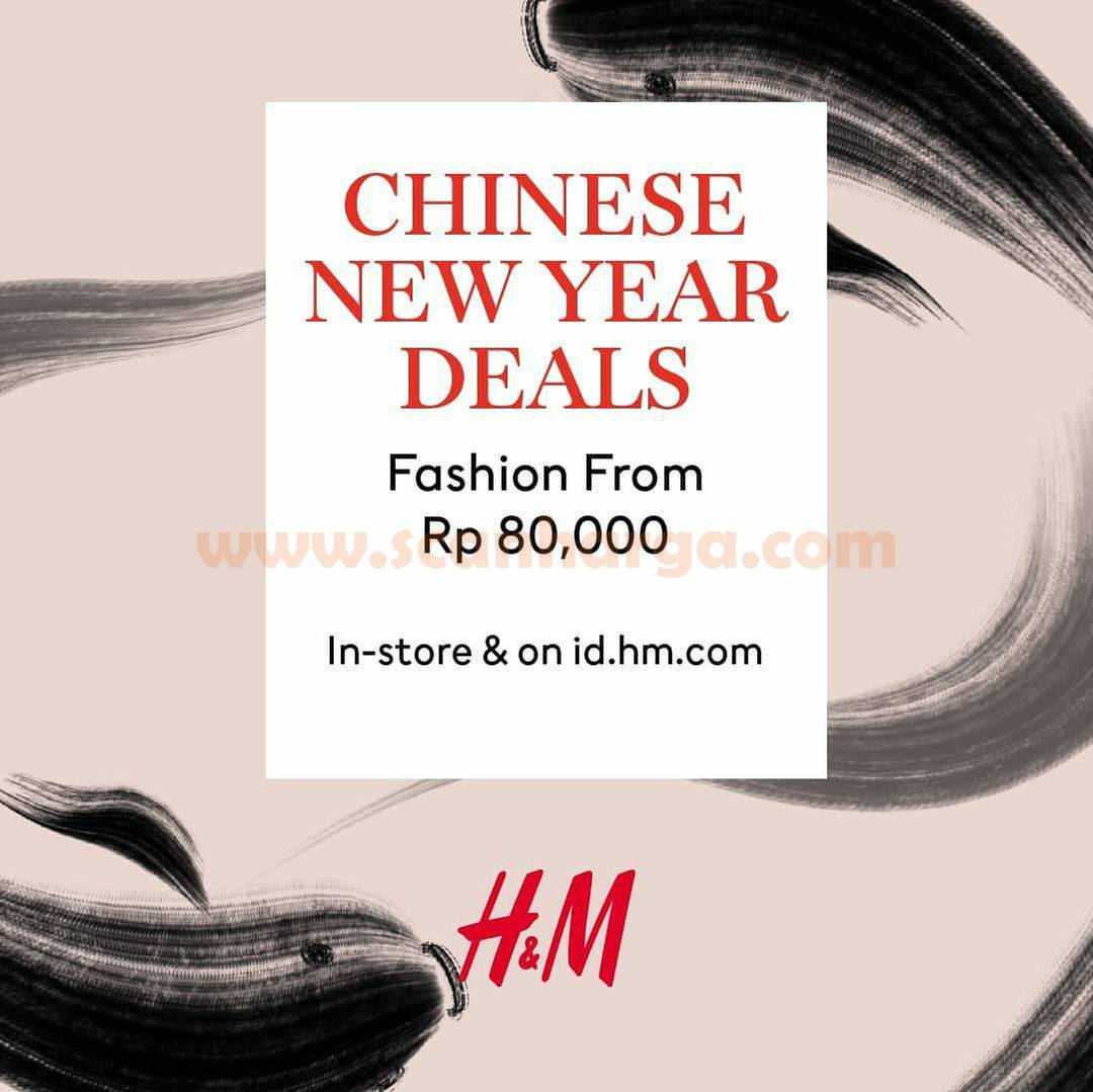 H&M Promo Chinese New Year Deal! Fashion From Rp 80.000