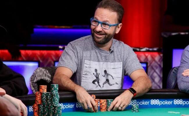 Daniel Negreanu World Series of Poker