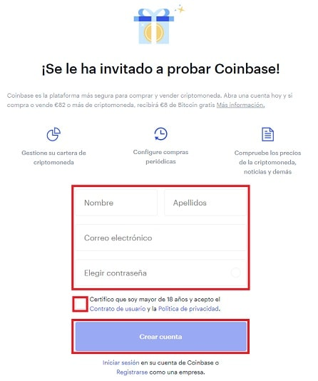 Cómo Comprar Criptomoneda DISTRICT0X En Coinbase Registro