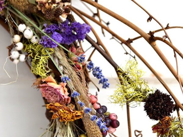 Natural Elements for Fabulous Fall Decorating and Some Yummy Comfort Food Recipes