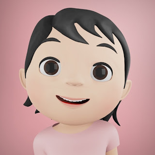 Karakter Hoala pada animasi 3D musik dan lagu anak Indonesia Hoala dan Koala