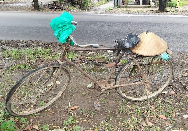Sepeda Tua Sebagai Saksi Hidup Mencari Rejeki