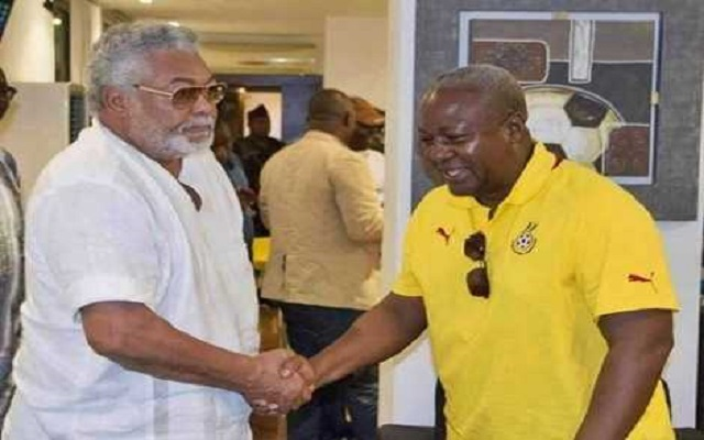Rawlings Asks Prez Mahama To Step Down Before Upcoming Elections