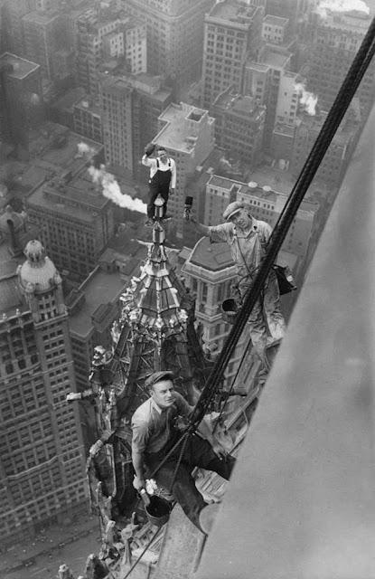 Pintores en rascacielos - 1926