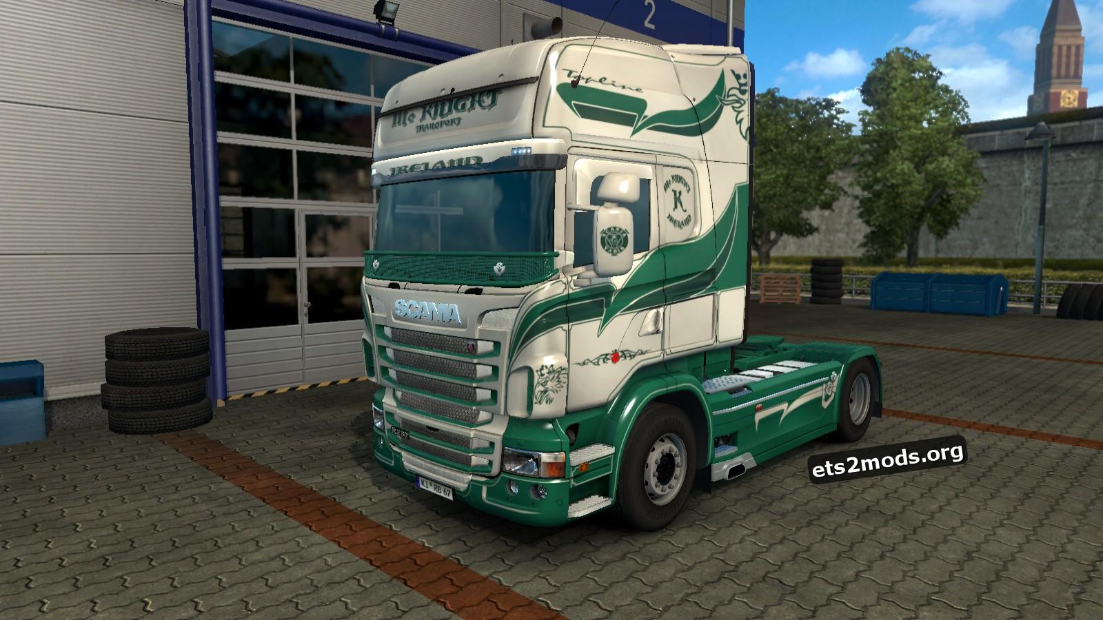 Mc KNIGHT Skin for Scania RJL