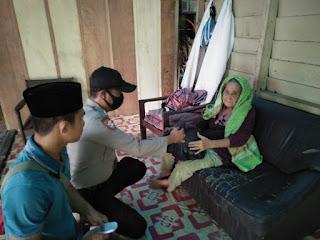 200 Paket Sembako di Salurkan Polres Lingga dalam Rangka Menyambut Idul Adha