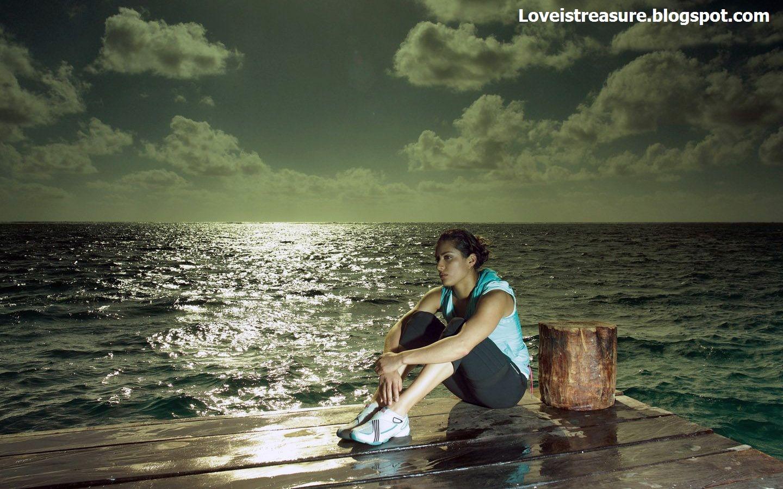 Love Is Treasure Alone Sad Girls  Alone Sad Girls -9900