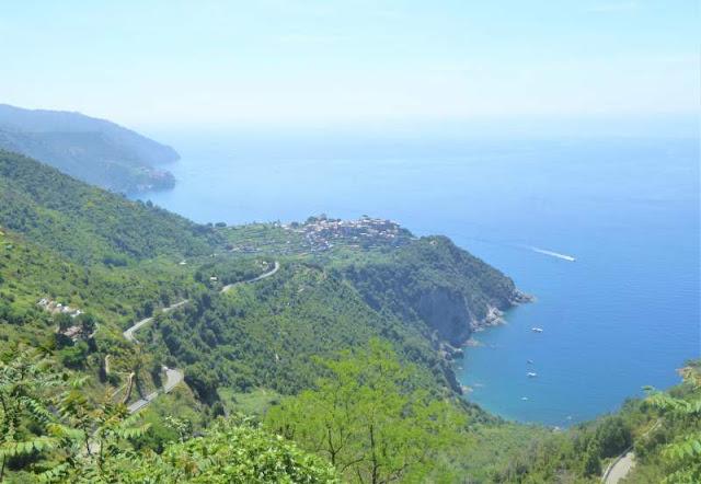 panorama su Corniglia