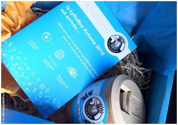 Avis Blog : Lyftonomie, la box bien-être tendance compléments alimentaires !