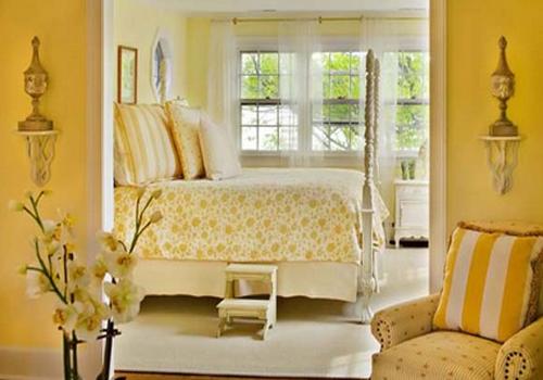 Desain Kamar Tidur Bernuansa Kuning - Desain Rumah ...