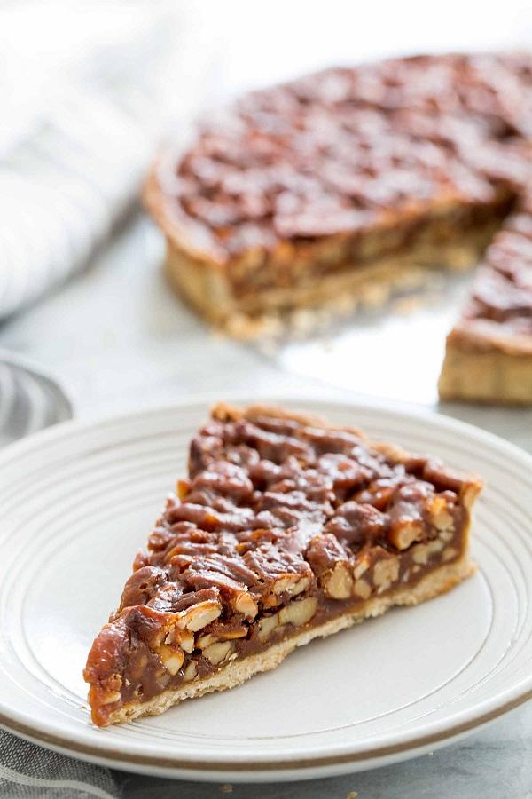 Caramelized Nut Tart