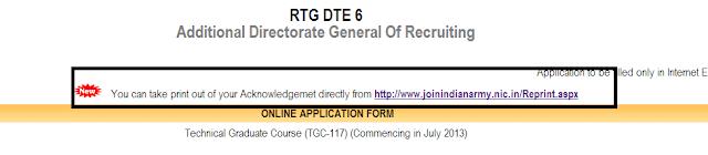tgc 117 application reprint