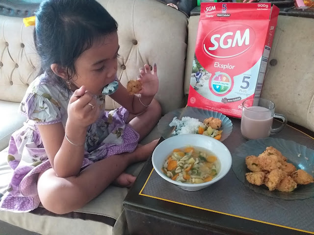 Menu Sederhana Ala Bunda Arri Widi Sang Mombassador SGM Eksplor Yang Bikin Si Kecil Makan Lahap