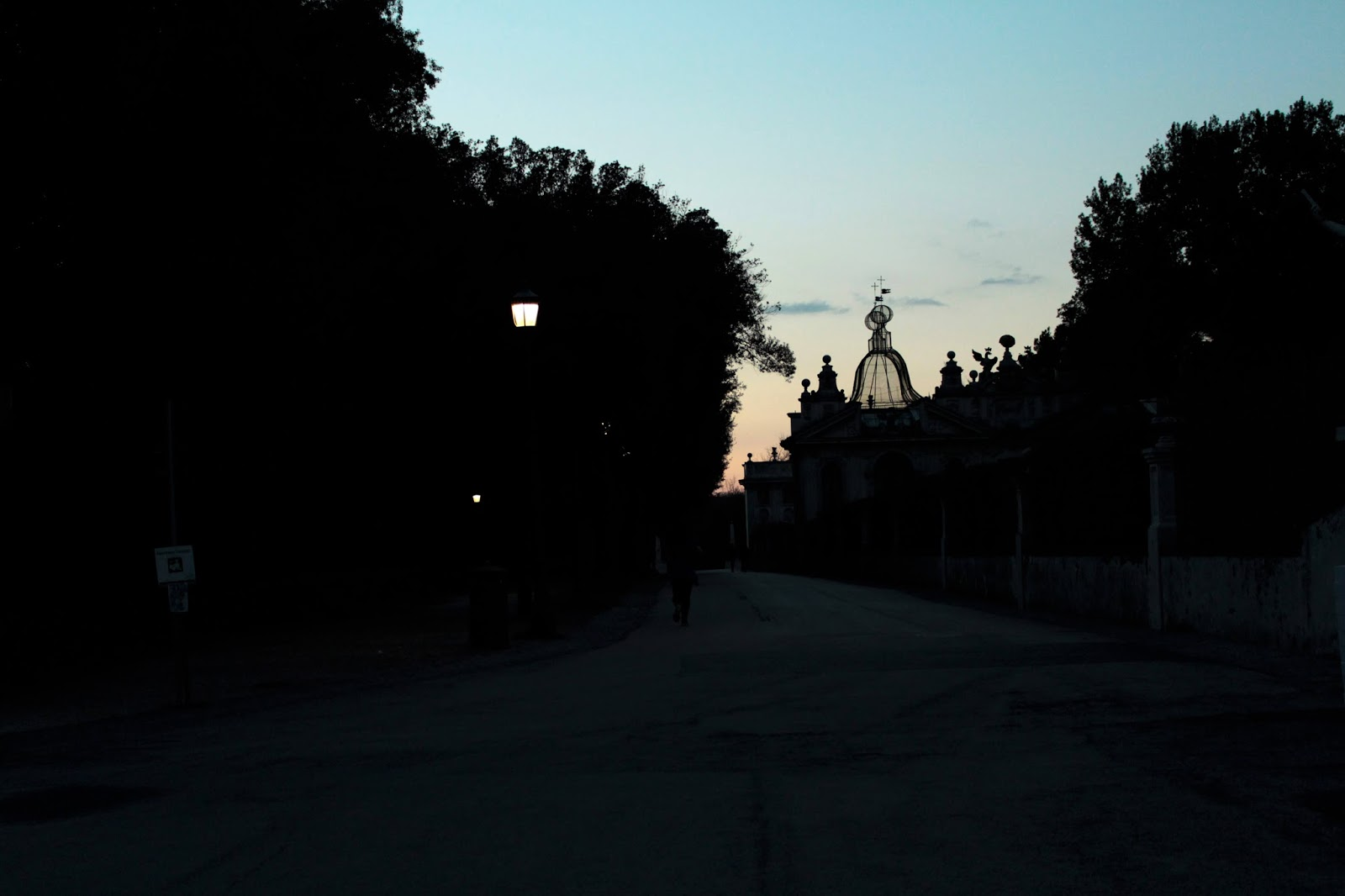 gallery borghese estate at dusk