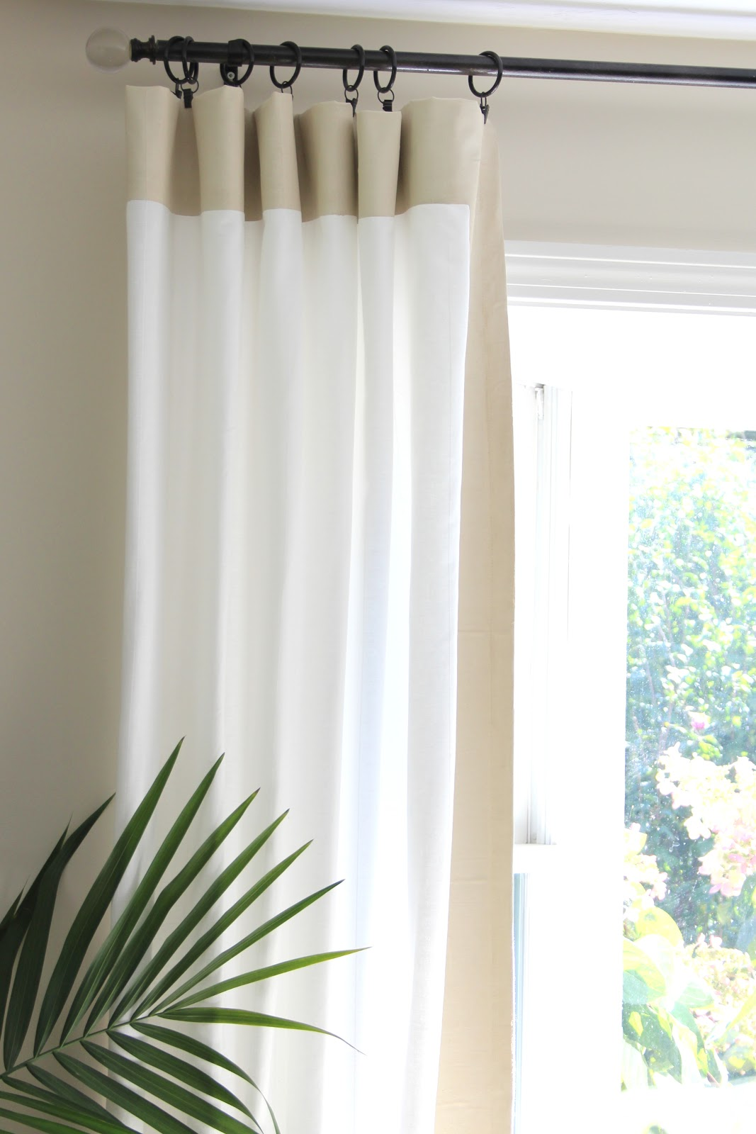 Diy Curtain Rods Shine Your Light