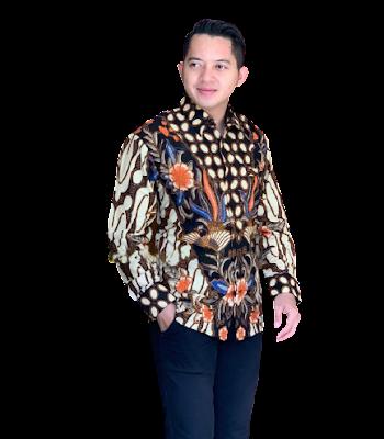 Kemeja Batik Pria Solo Lengan Panjang KBP 05