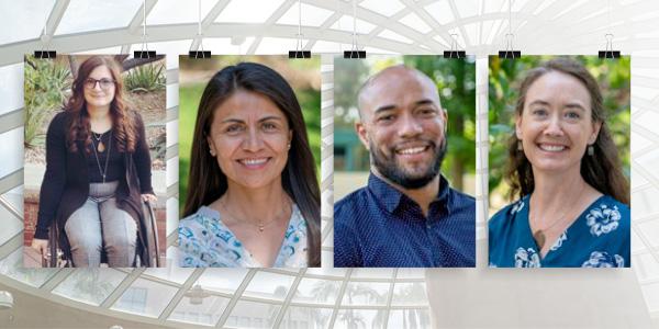 Drs. Toni Saia, Patricia Sanchez Lizardi, Jeff Brown and Jenn Karnopp