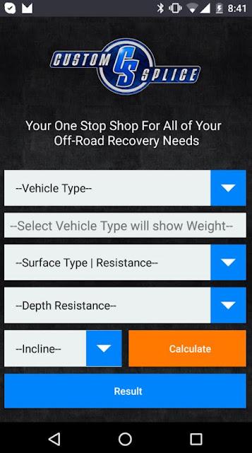 Custom Splice Recovery App