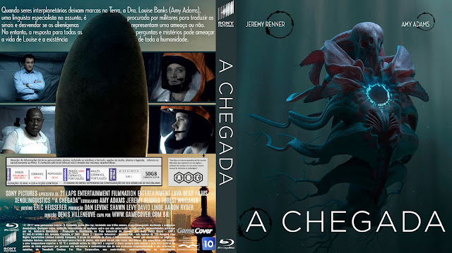 Capa Bluray A Chegada [Exclusiva]