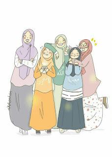 kartun sahabat muslimah terbaru