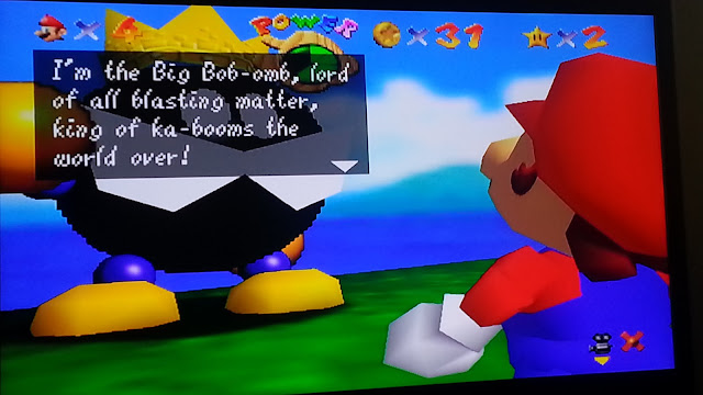 Corona Jumper: Super Mario 64 (Nintendo 64, 1996)