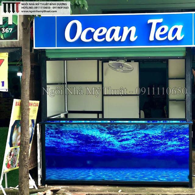 Những mẫu kiot trà sữa, cafe lưu động rẻ đẹp nhất
