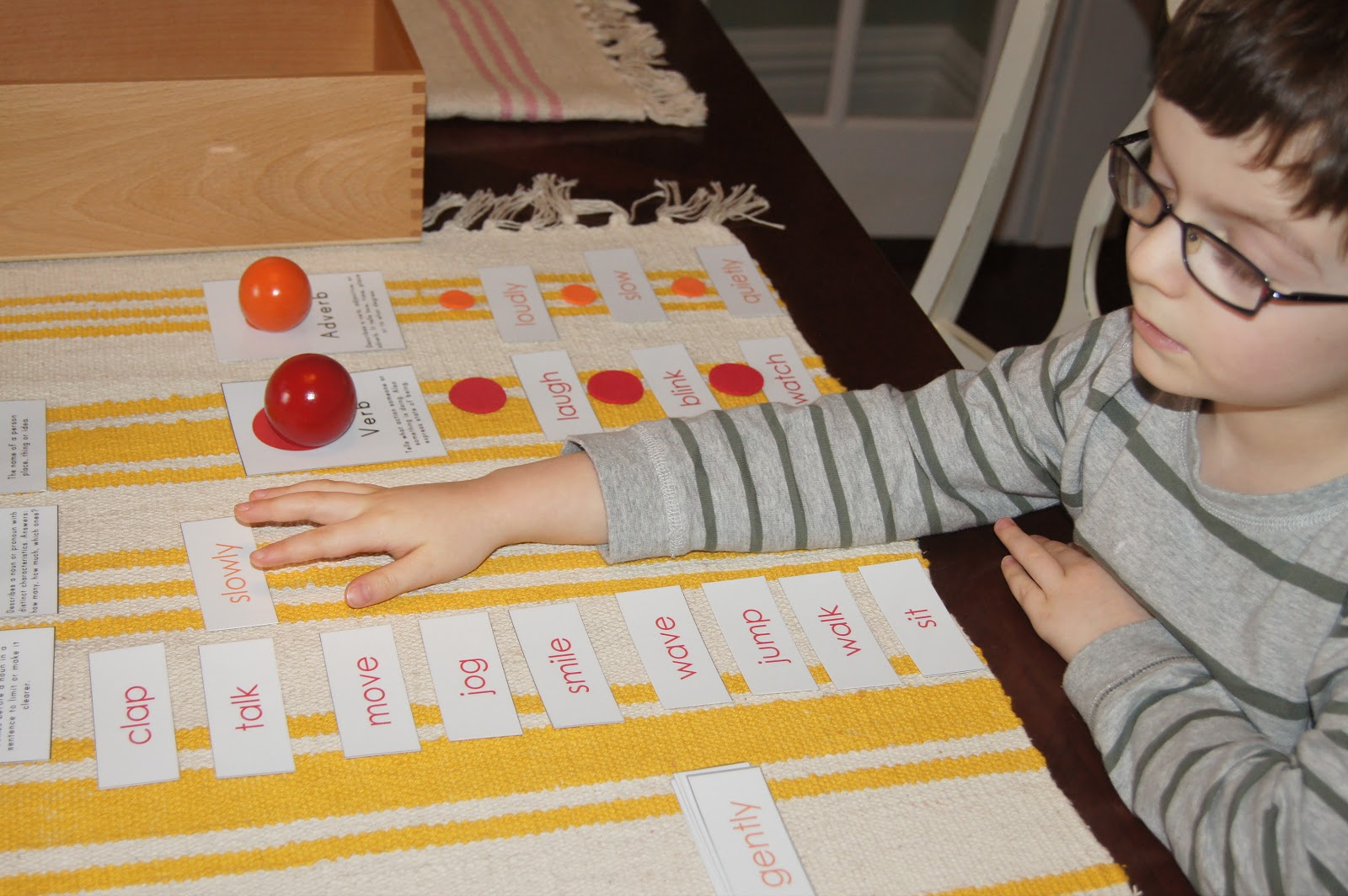 montessori language This wiki was created to give montessori teachers a way to look up lessons online without having to lug out their albums in those giant binders, and as a place to share extensions, variation, and original lesson that they have come up with.