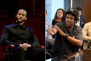 Colin and Jay Z NFL photos