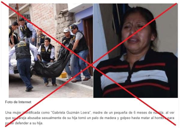 """No hay registro de que """"Gabriela Guzmán Loera"""" matara a su pareja por abusar de su bebé en la mexicana Ciudad Juárez"""