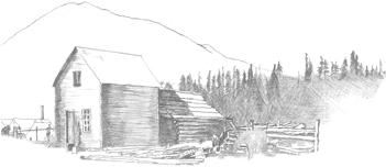 Skagway AK's first cabin