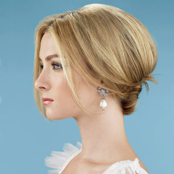 simple wedding hairstyles short