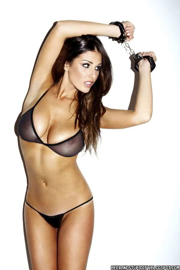 Beer And Stupidity Lucy Pinder Will Melt Your Brain