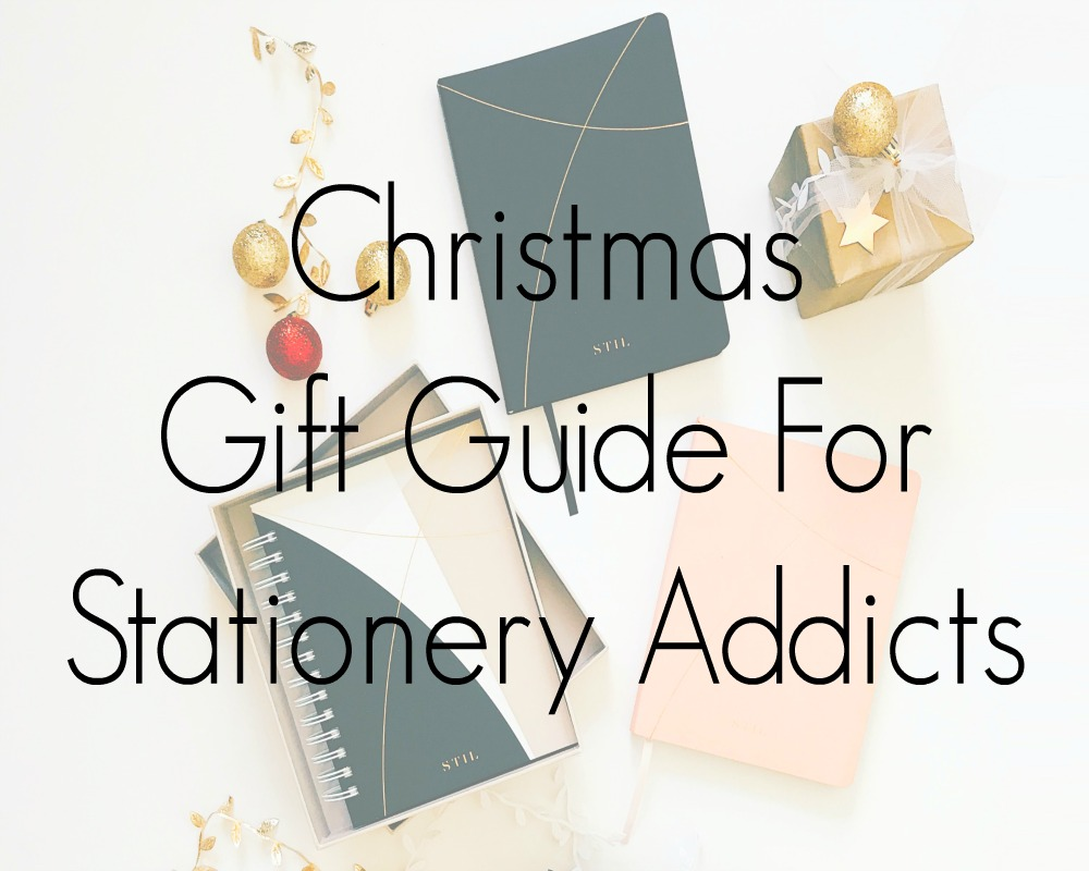 Gift Ideas For Stationery Addicts 2020