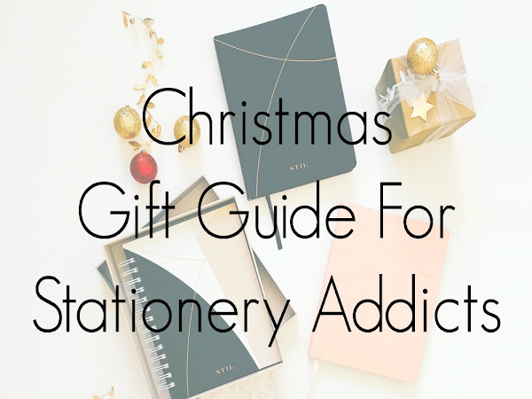 Christmas Gift Guide For Stationery Addicts (2020)