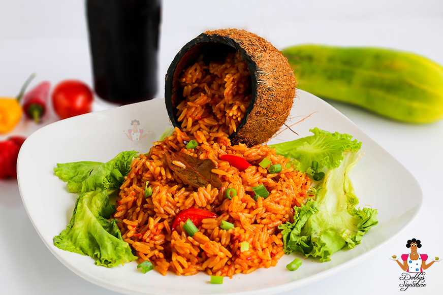 Dobbys signature nigerian food blog i nigerian food recipes i easy coconut jollof rice recipe how to make coconut jollof rice ccuart Gallery