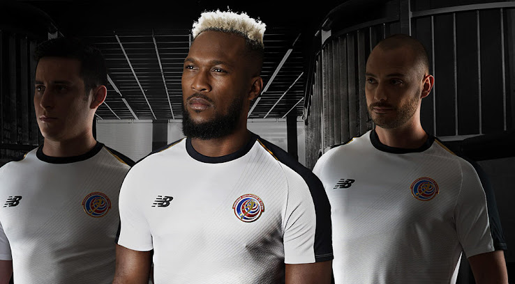 Costa Rica 2018 World Cup Home   Away Kits Released - Footy Headlines f91054d77