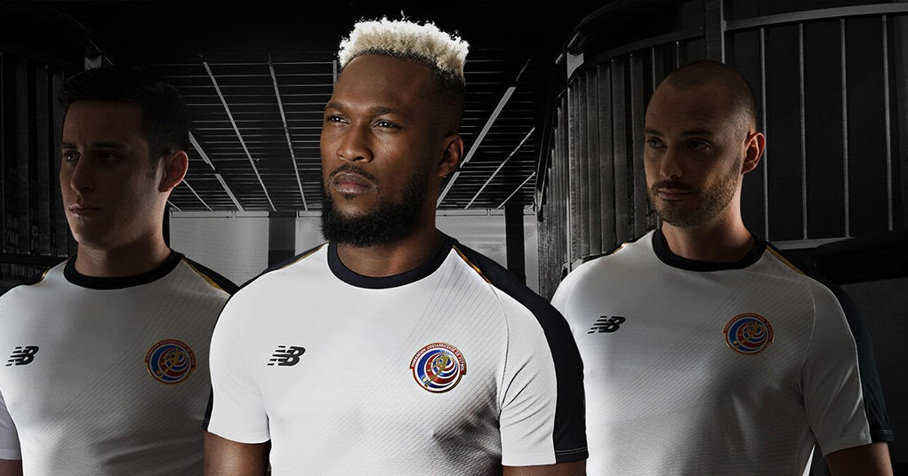 c468241c0f5 Costa Rica 2018 World Cup Home   Away Kits Released - Footy Headlines