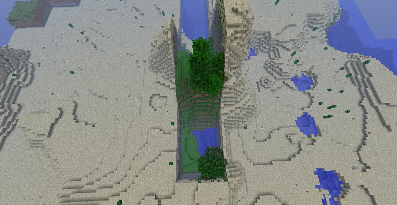 Strange map-generation bug in Minecraft 1 4 2 — Блог Антона Аксенова