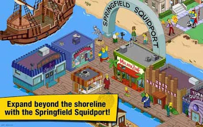 Download The Simpsons Tapped Out Mod Apk
