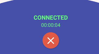 Aplikasi VPN Sudah Terkoneksi
