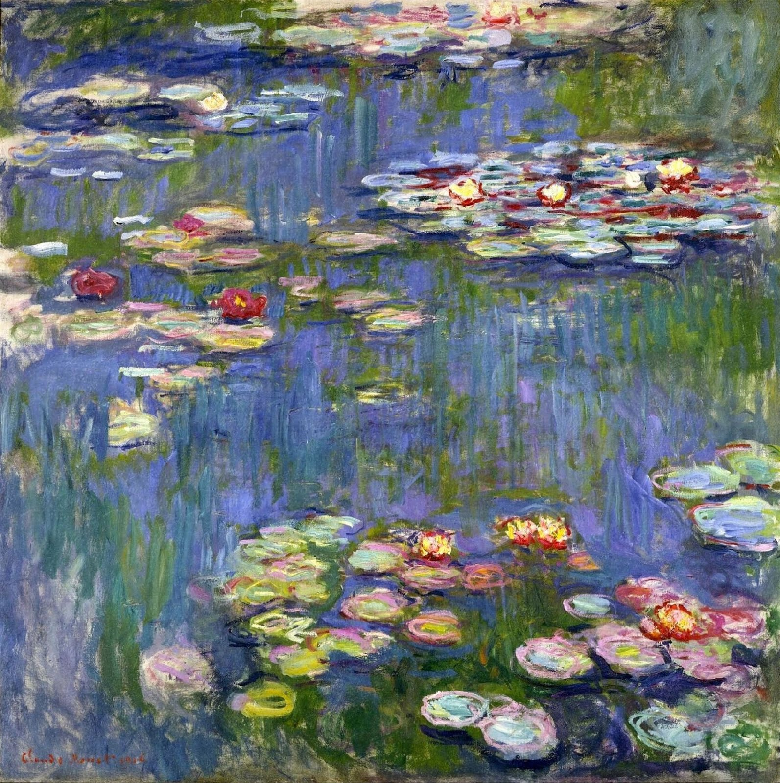 Artsy, making the world's art accessible to anyone Click on Waterlilies to go to the site